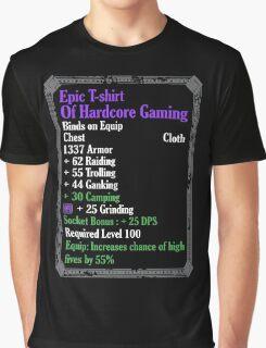 Warcraft - Epic Of Hardcore Gaming Graphic T-Shirt
