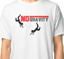Red,Black And Grey No Gravity Classic T-Shirt