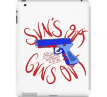 Please Outlaw Assault Weapons iPad Case/Skin