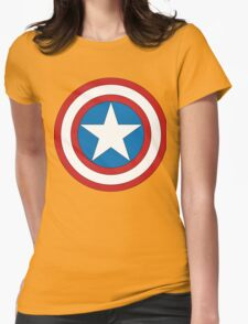 CAPTAIN AMERICA SHEILD Womens Fitted T-Shirt