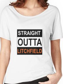 Straight Outta Litchfield Women's Relaxed Fit T-Shirt