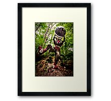 Skull Kid and Moon Framed Print