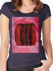 cherry apple Women's Fitted Scoop T-Shirt
