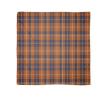 01226 Mysterious Orange Fashion Tartan  Scarf