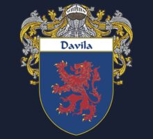 Davila Coat of Arms/Family Crest One Piece - Short Sleeve