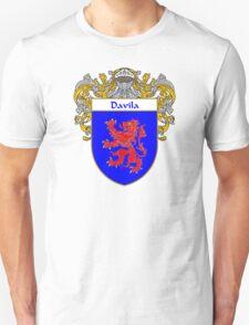 Davila Coat of Arms/Family Crest Unisex T-Shirt
