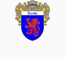 Davila Coat of Arms/Family Crest Unisex T-Shirt