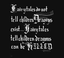 What Fairy Tales Do (GK Chesterton - White Text) by Ialokin