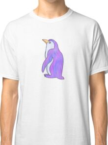 purple and blue penguin Classic T-Shirt