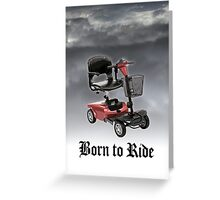 Birthday Card: Over The Hill Greeting Card