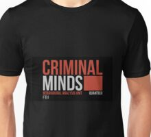 Criminal Minds Logo Unisex T-Shirt