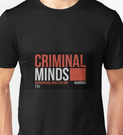 Criminal Minds Logo Unisex T-Shirt