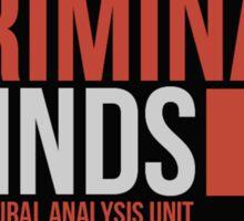 Criminal Minds Logo Sticker