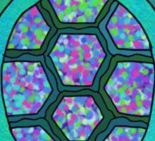 multicolor turtle graphic Sticker