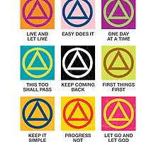 Alcoholics Anonymous Slogans by glomper