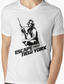 Snake Plissken (Escape from New York) Mens V-Neck T-Shirt