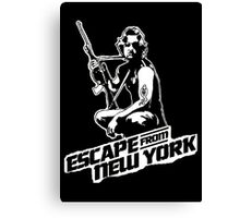 Snake Plissken (Escape from New York) Canvas Print