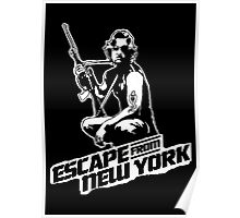 Snake Plissken (Escape from New York) Poster