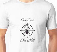 One Shot, One Kill Unisex T-Shirt