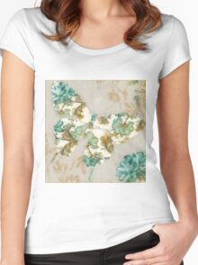 Tapestry Wings I Women's Fitted Scoop T-Shirt