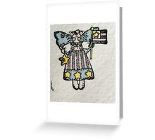Raggamuffin Patriot Greeting Card