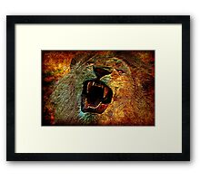 Raw Nature Framed Print