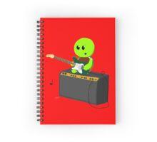 Guitar Turtle Spiral Notebook