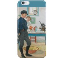 Esbjorn in Cap and Boots iPhone Case/Skin