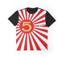 Speed Racer Rising Sun Graphic T-Shirt