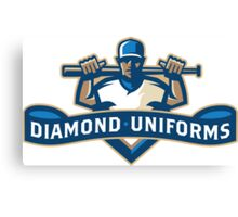 Diamond Uniforms Canvas Print