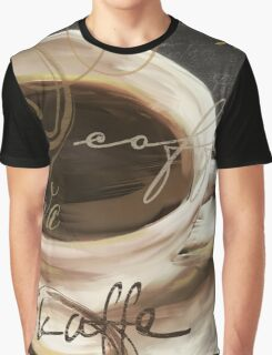 Le Cafe Dark  Graphic T-Shirt
