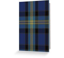 01222 Twlight Daze Fashion Tartan Greeting Card