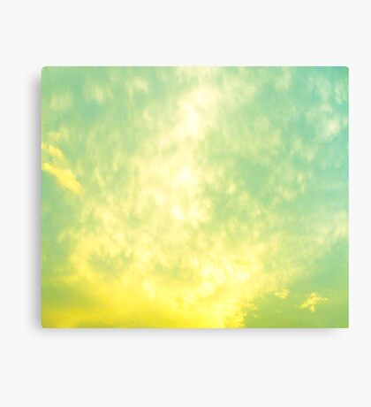 The Yellow Sky Canvas Print