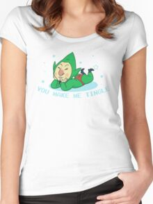 You Make Me Tingle Women's Fitted Scoop T-Shirt