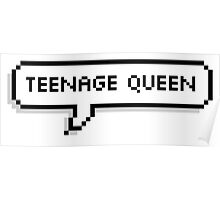 Teenage Queen - 5SOS Speech Bubble Poster