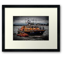 Fleetwood Lifeboat Framed Print