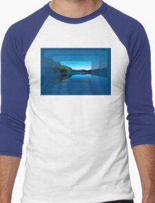 Gorilla Creek in the mist Men's Baseball ¾ T-Shirt