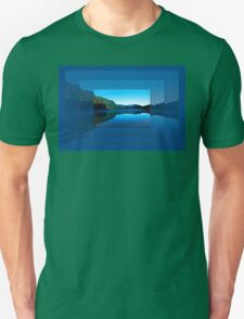 Gorilla Creek in the mist Unisex T-Shirt