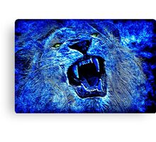 Nature Blue Canvas Print