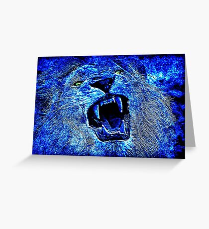 Nature Blue Greeting Card