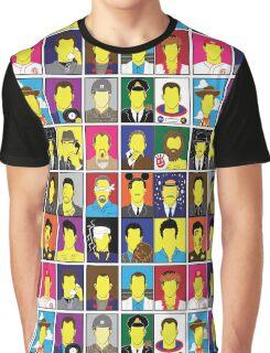 Hall of Hanks Graphic T-Shirt