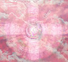 Love Peace Believe by Sherri Of Palm Springs by Sherri     Nicholas