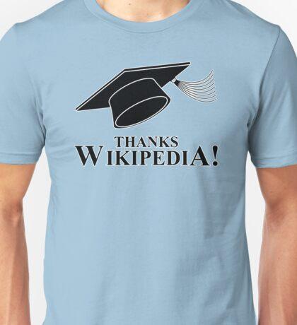 Thanks Wikipedia Unisex T-Shirt