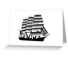 The Viking Expedition Voyager  Greeting Card