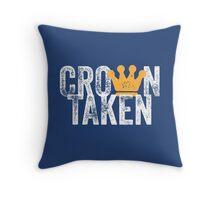 Crown Taken Throw Pillow