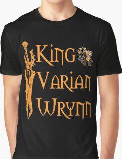 Warcraft - King Varian Wrynn Graphic T-Shirt