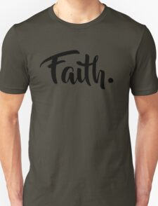 Faith. Tshirt (Black) Unisex T-Shirt