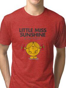 Little Miss Sunshine Tri-blend T-Shirt