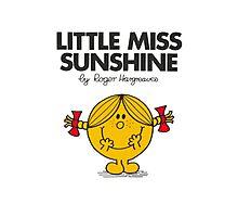 Little Miss Sunshine Photographic Print
