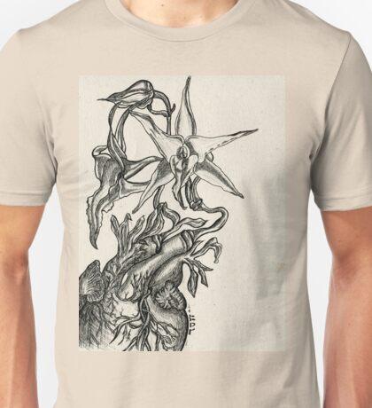 Orchid Heart - Evolve Love Unisex T-Shirt